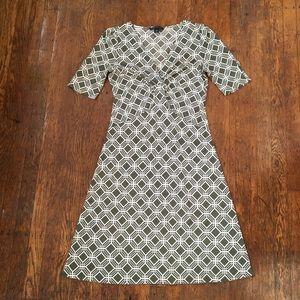 Banana Republic Silk/Cotton Blend Dress. Small